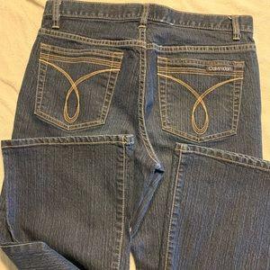 Calvin Klein Jeans Jeans - Calvin Klein stretchy denim bootcut jeans size 8